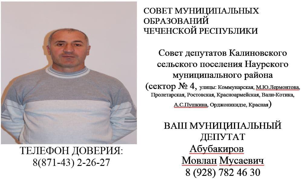 Абубакиров М.М