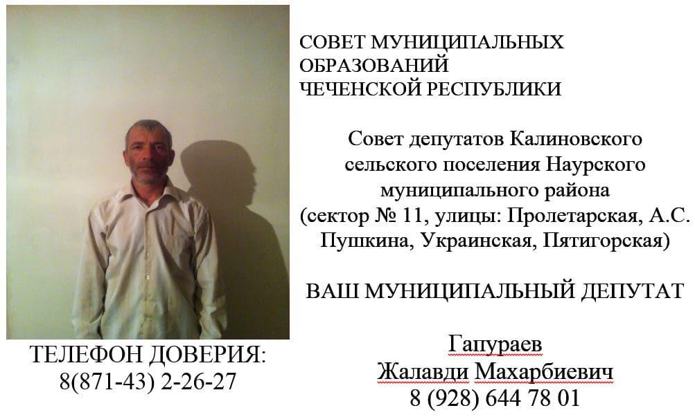 Гапураев Ж.М